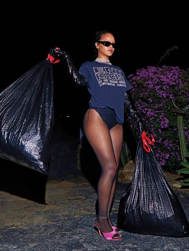 Rihanna (Foto: Gray Sorrenti/Harpers Bazar)