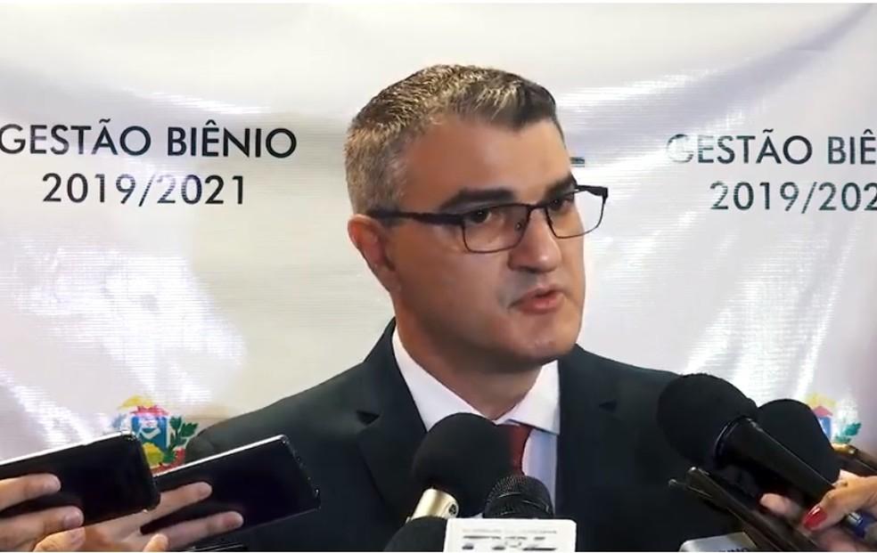 José Antônio Borges, procurador-geral de Justiça de MT — Foto: MPE/MT