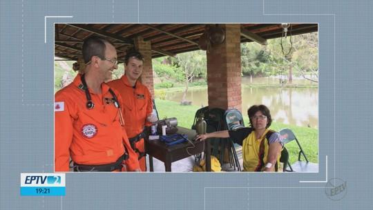 Bombeiros resgatam mulher desaparecida na Serra Fina, no Sul de MG
