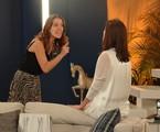 Laura (Nathalia Dill) confrontará Úrsula (Sílvia Pfeifer) | Reprodução