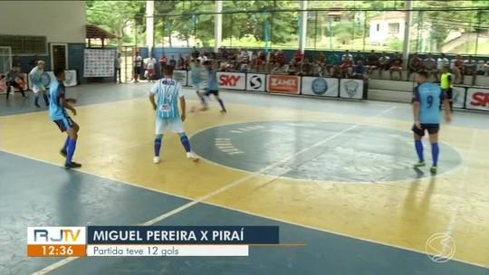 Imparável! Russinho dá novo show e conduz Piraí na vitória sobre Miguel Pereira por 7 a 5