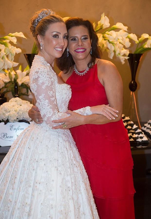 Fernanda e Narcisa Tamborindeguy (Foto: Francisco Cepeda/AgNews)