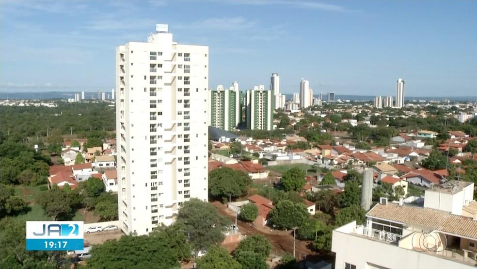 Calendário do IPTU foi divulgado pela prefeitura — Foto: Reprodução/TV Anhanguera