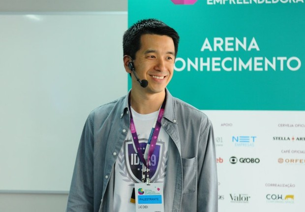 Liao Yu Chieh, fundador da Idea9, no Festival de Cultura Empreendedora (Foto: Rafael Jota/Editora Globo)