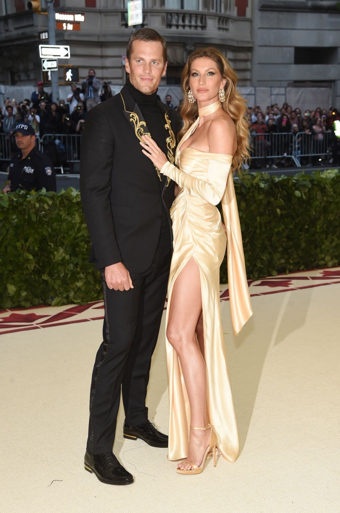 Tom Brady e Gisele Bundchen (Foto: Getty Images)