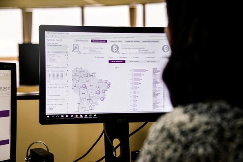 Um dos robôs usados pelo TCU, a Alice lê todos os editais publicados no dia e avisa quais possuem indício de irregularidade. (Foto: Divulgação/TCU)