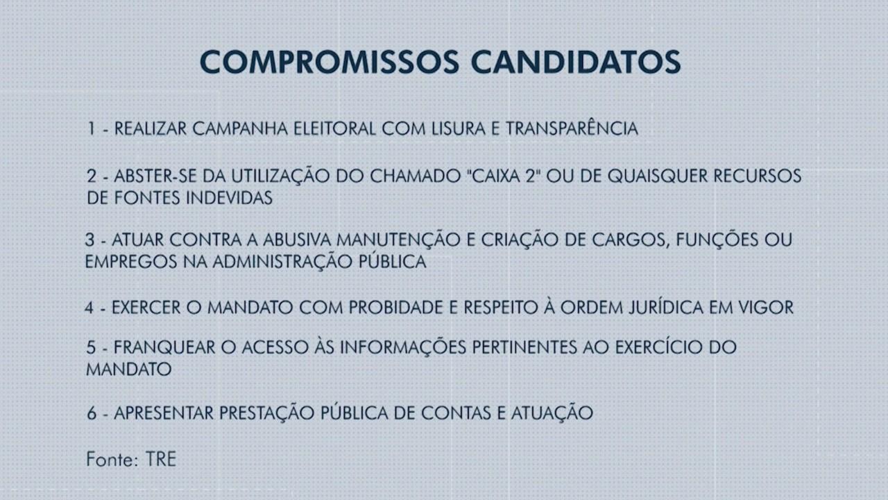 Candidatos à prefeitura assinam termo de compromisso com campanhas eleitorais acessíveis