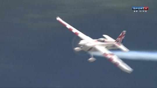 Brilhante, Bonhomme vence quinta etapa do Mundial de Corrida Aérea
