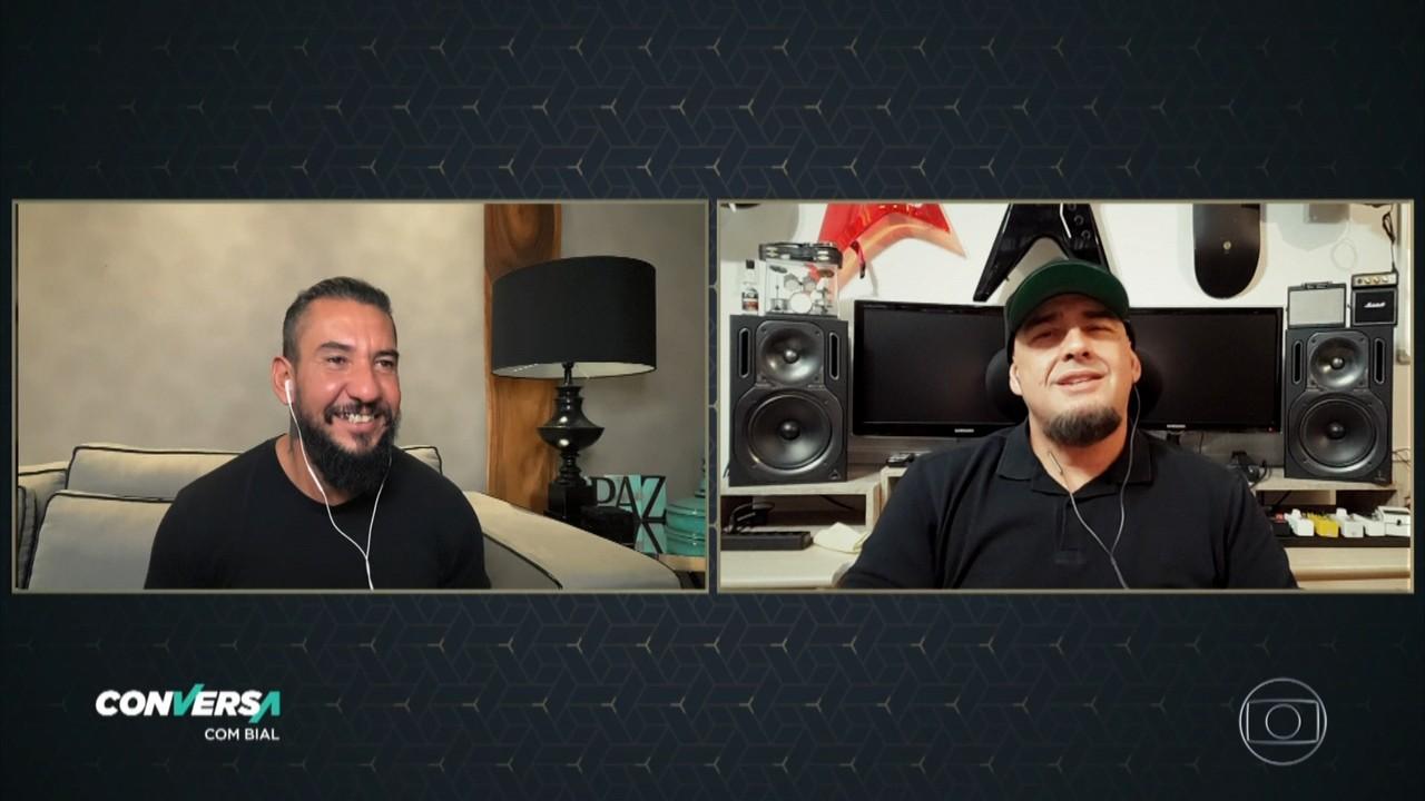 Ex-Raimundos Rodolfo e Digão falam de voltar a tocar juntos