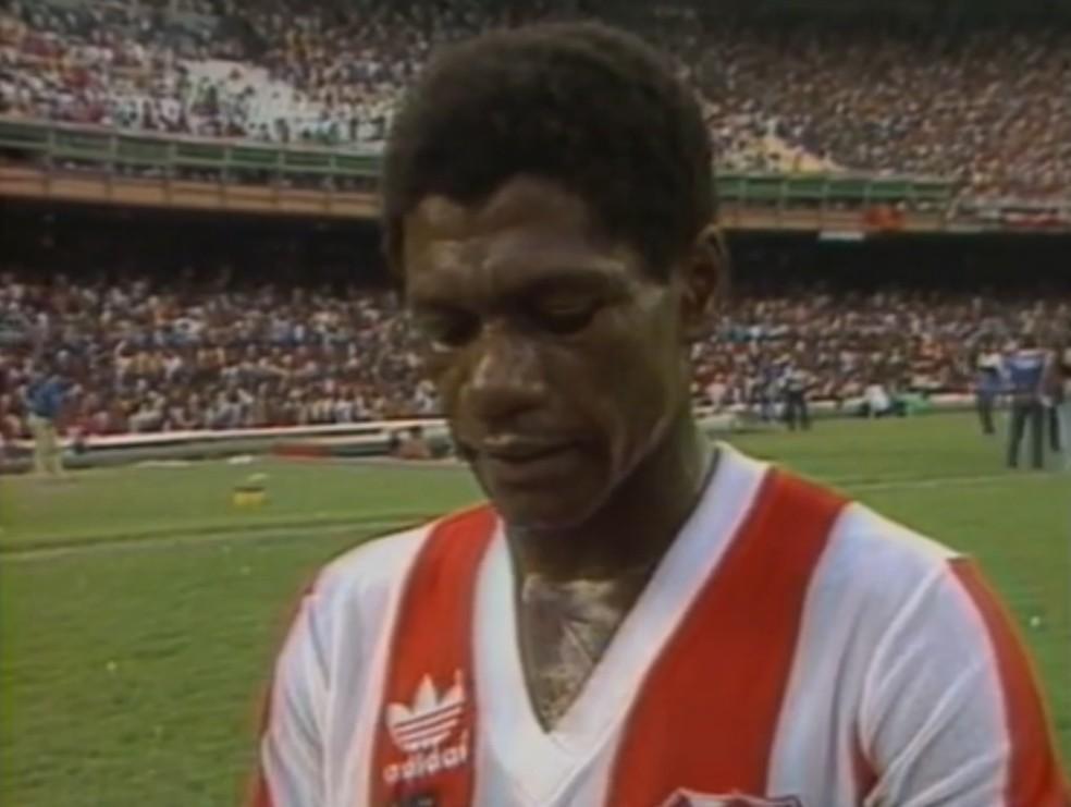 Marinho, ex-jogador do Bangu — Foto: Reprodução/ SporTV