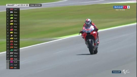 Com ultrapassagem na largada, Jorge Lorenzo vence o GP da Itália de MotoGP