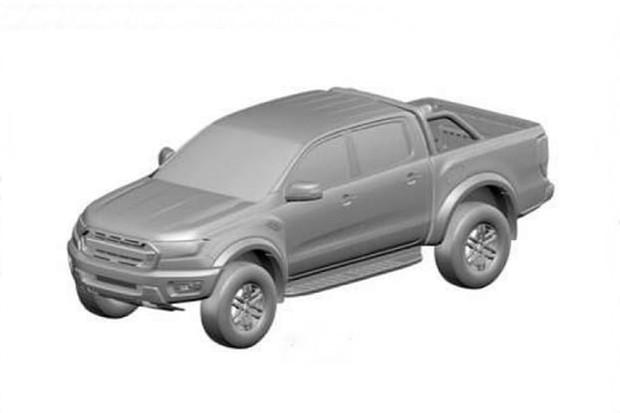 Ford Ranger Raptor tem desenho industrial registrado no Brasil (Foto: INPI)