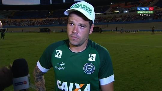 Tiago Luís diz que Goiás sai satisfeito com empate diante do Vila Nova