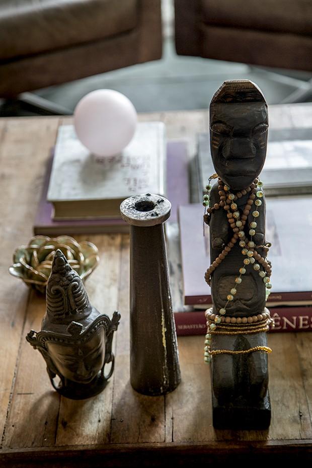 Lifestyle decor - Objetos ritualísticos (Foto: Rogério Voltan)