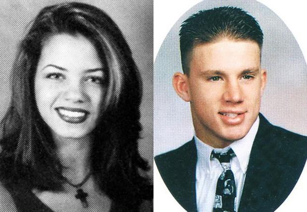 Jenna Dewan Tatum e Channing Tatum na adolescência (Foto: Reprodução)