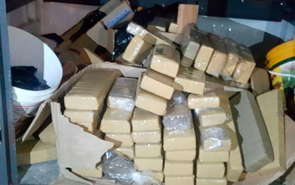 Material foi encaminhado para o Draco, no bairro da Pituba (Foto: Divulgação/SSP)