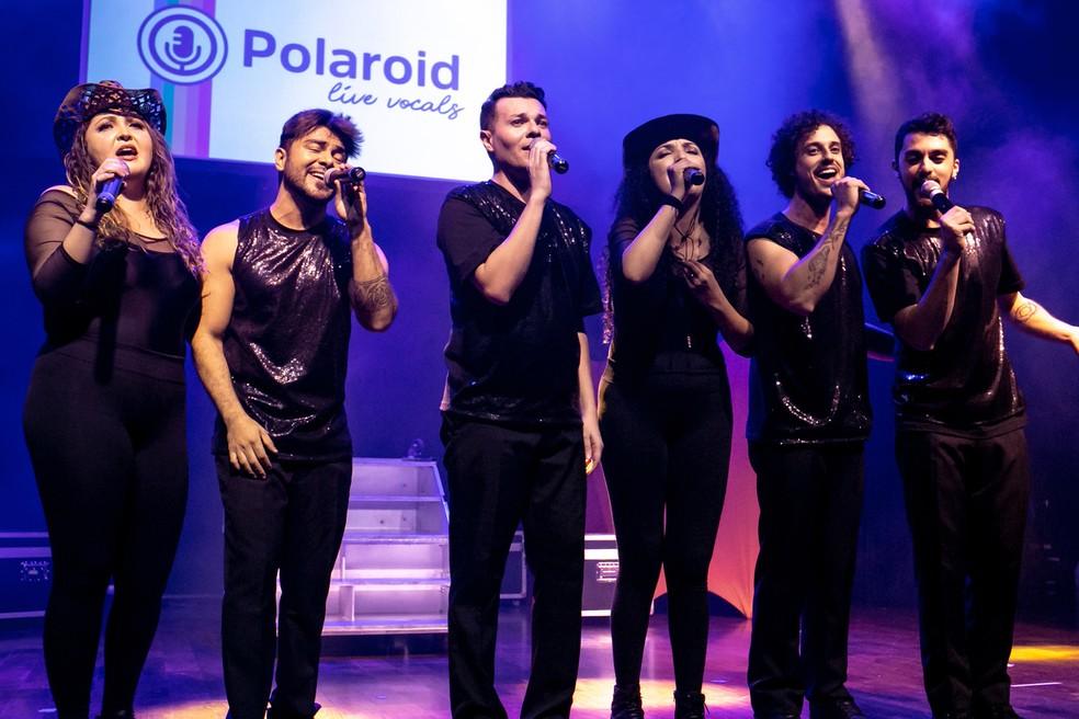 Com sucessos dos anos 90, o grupo Polaroid sobe ao palco do Teatro EBANX Regina Vogue nesta sexta-feira (23). — Foto: Divulgação.