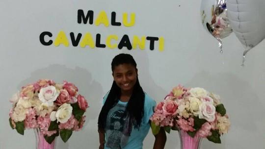 Malu Cavalcanti completa 12 anos e comemora com família e amigos