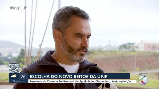 Marcus David recebe mais de 9 mil votos para reitor da UFJF