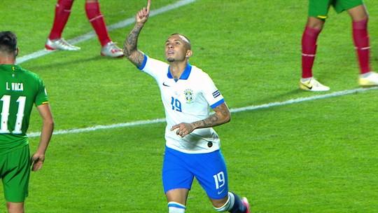 """Everton diz que seu gol não empolgaria Renato Gaúcho: """"Diria que não entraria no DVD dele"""""""