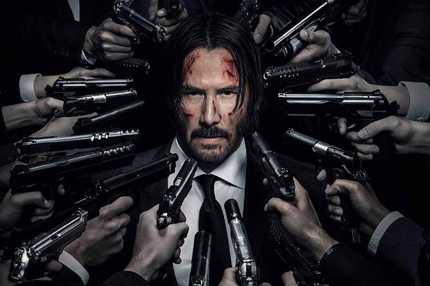 Keanu Reeves em Jon Wick 3 (Foto: Divulgação)