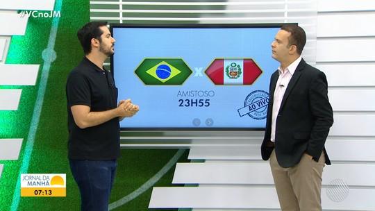 Brasil enfrenta o vice-campeão da Copa América 2019 nesta quarta-feira, em Los Angeles