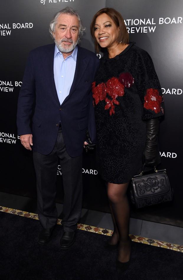Robert De Niro e a mulher, Grace Hightower  (Foto: Jamie McCarthy/Getty Images)