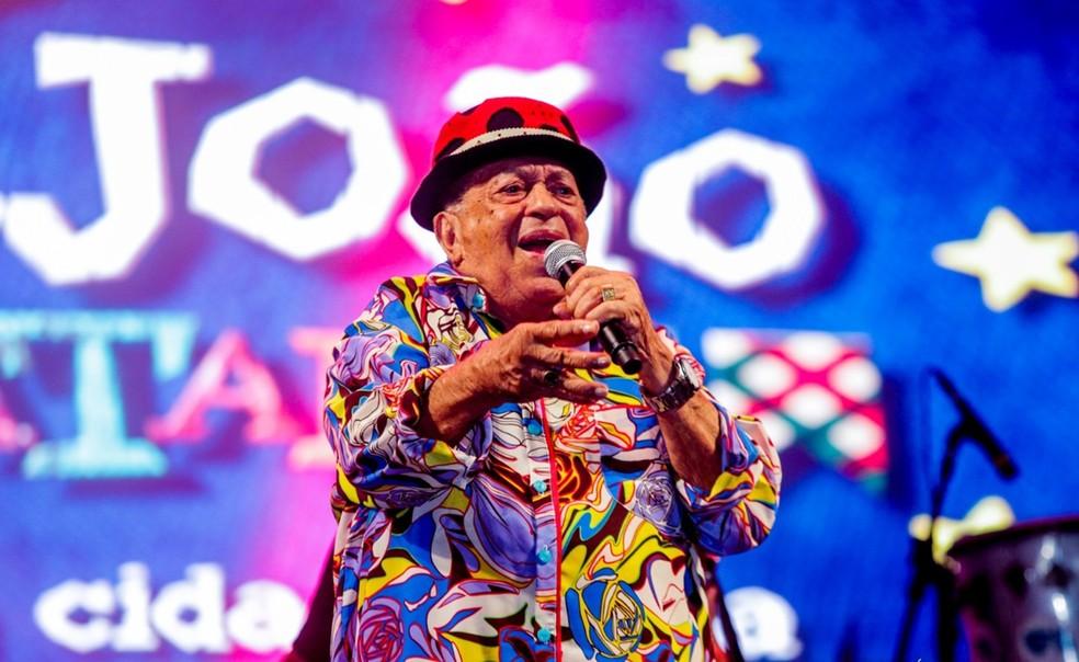 Genival Lacerda era conhecido pela irreverência de suas músicas  — Foto: Rogério Vital