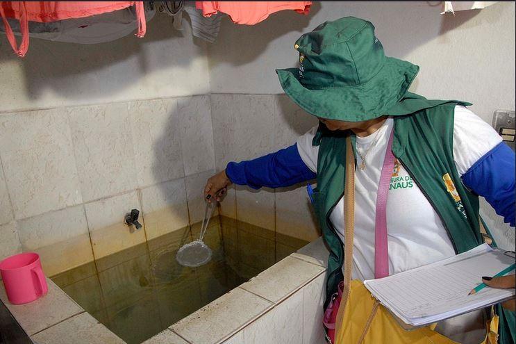 Diagnóstico de infestação do Aedes é feito em novas áreas de Manaus - Notícias - Plantão Diário