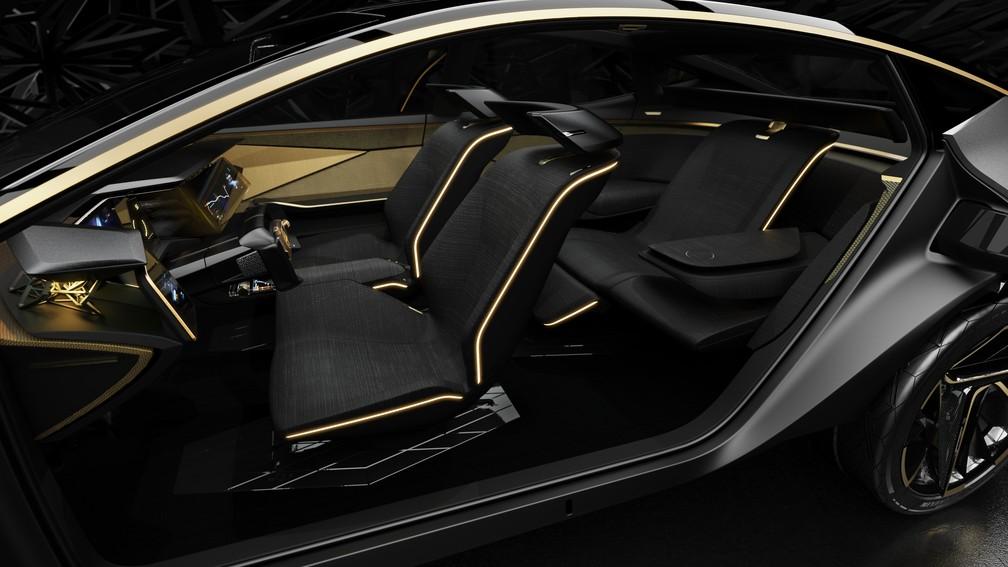 Interior do Nissan IMs — Foto: Nissan/Divulgação
