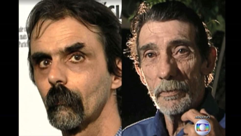 À esquerda, Pedro Meyer, apontado como autor de uma série de estupro; à direita, Paulo Antônio da Silva, condenado injustamente — Foto: Reprodução/TV Globo