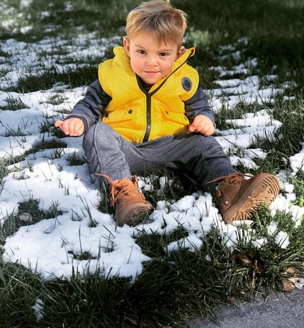 Brody é uma criança saudável e feliz (Foto: Reprodução Facebook)