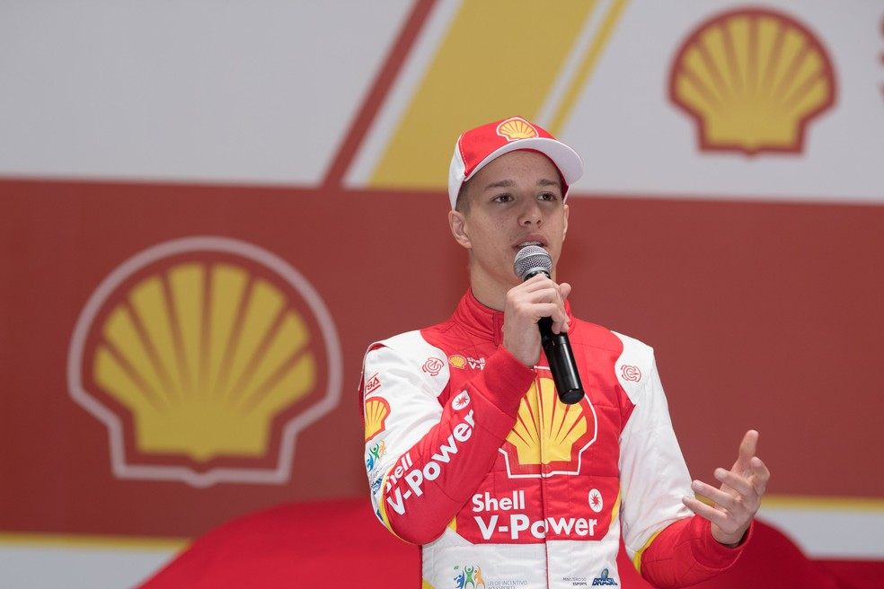 Gianluca Petecof, novo piloto da Academia de Pilotos da Ferrari (Foto: José Mário Dias)