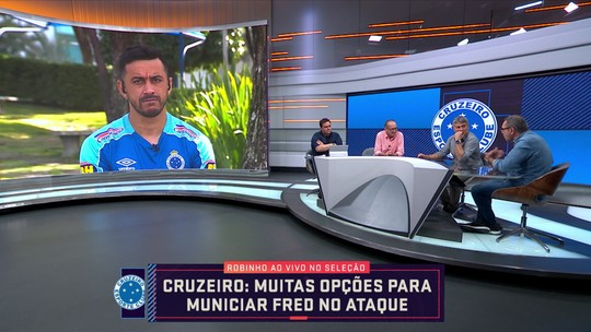 Robinho fala sobre momento do Cruzeiro no ano e avalia que o time melhorou em relação ao ano passado
