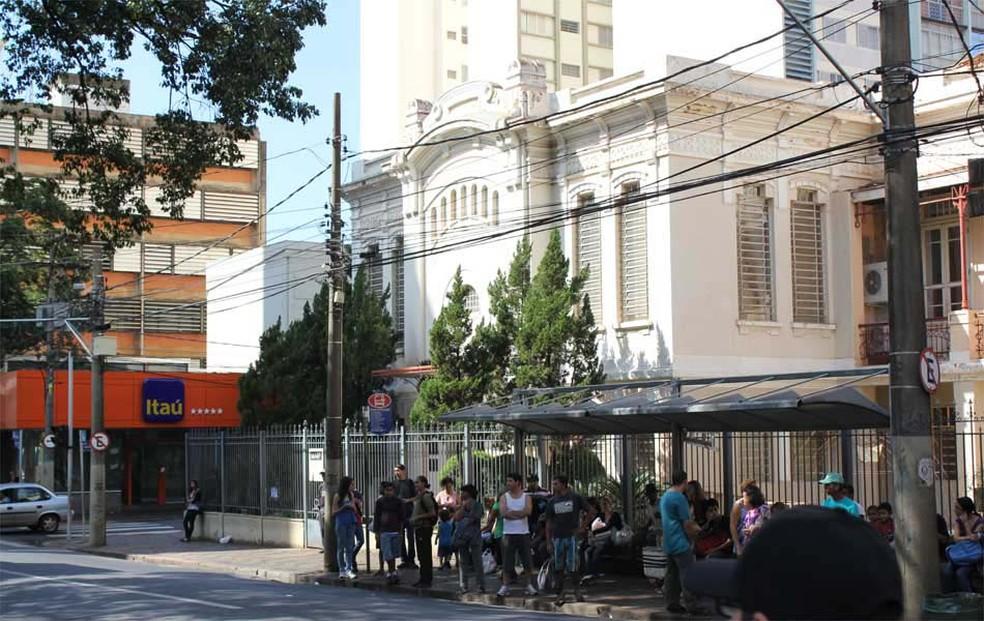 Prédio do Museu de Arte de Ribeirão Preto — Foto: Clayton Castelani/G1