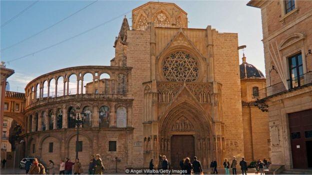 A Catedral de Valência abriga o que é conhecido como o Santo Graal (Foto: ANGEL VILLALBA/GETTY IMAGES/BBC)