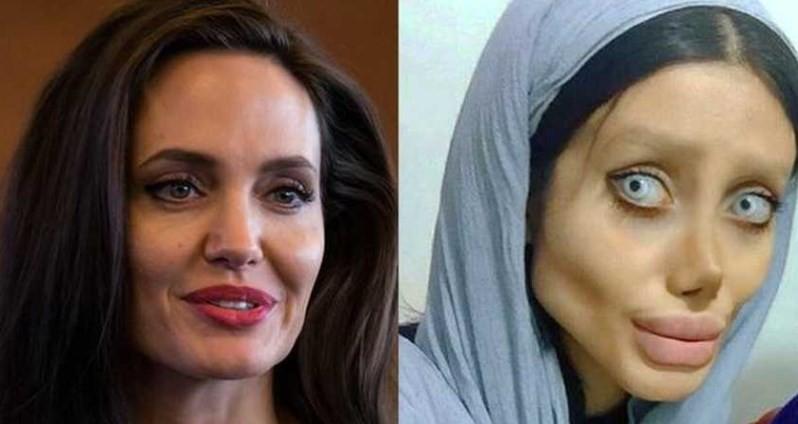 Angelina Jolie e Sahar Tabar: parecidas?