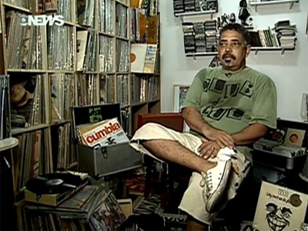 DJ Dema (Foto: Reprodução/Globo News)