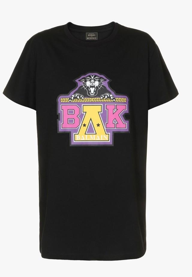 A camiseta da collab da Balmain com Beyoncé (Foto: Divulgação)