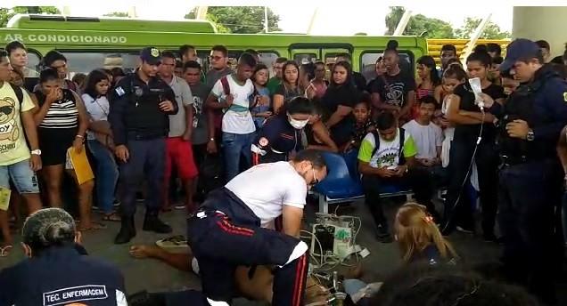 Idoso sofre parada cardíaca e morre em terminal de ônibus na Zona Sul de Teresina