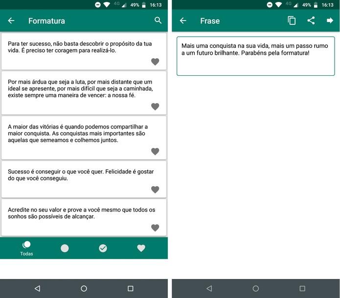 Mensagem Para Convite De Formatura Cinco Apps Com Frases