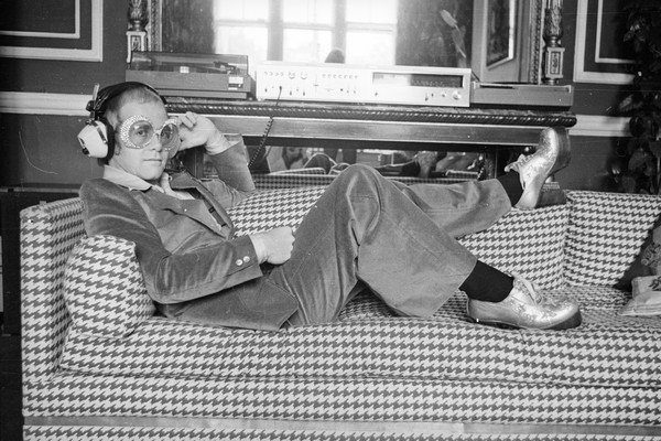 Elton John na década de 1970 (Foto: Getty Images)