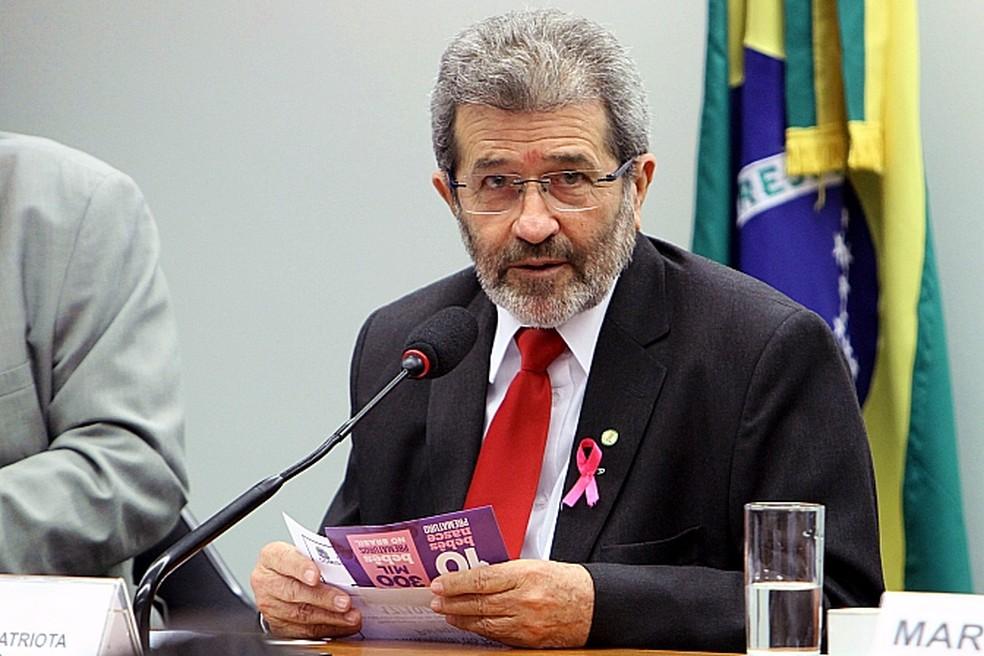 Deputado federal Gonzaga Patriota (PSB-PE) — Foto: Vinícius Loures/Câmara dos Deputados/Divulgação