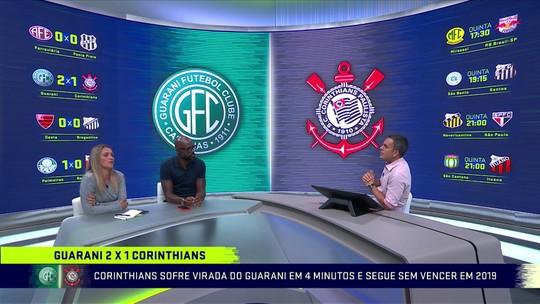 Jornalistas colocam meio de campo como dor de cabeça para Carille no Corinthians