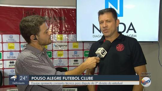 Pouso Alegre FC apresenta técnico e gerente para a disputa da Segunda Divisão do Mineiro