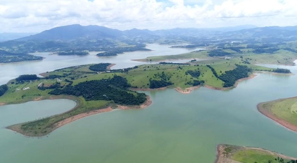 Sistema Cantareira abastece rios da região de Campinas (Foto: Reprodução / EPTV)