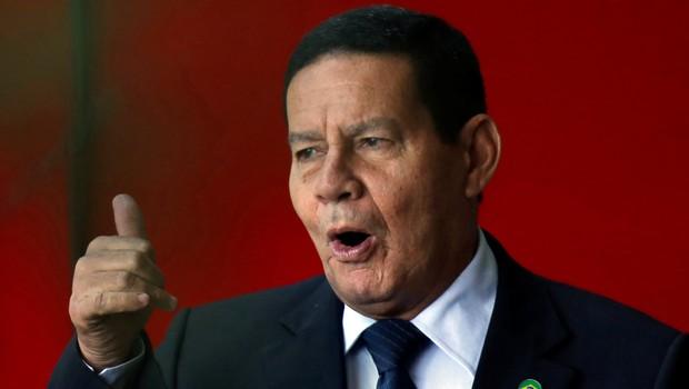 Vice-presidente general Hamilton Mourão (Foto: Reuters/Adriano Machado)