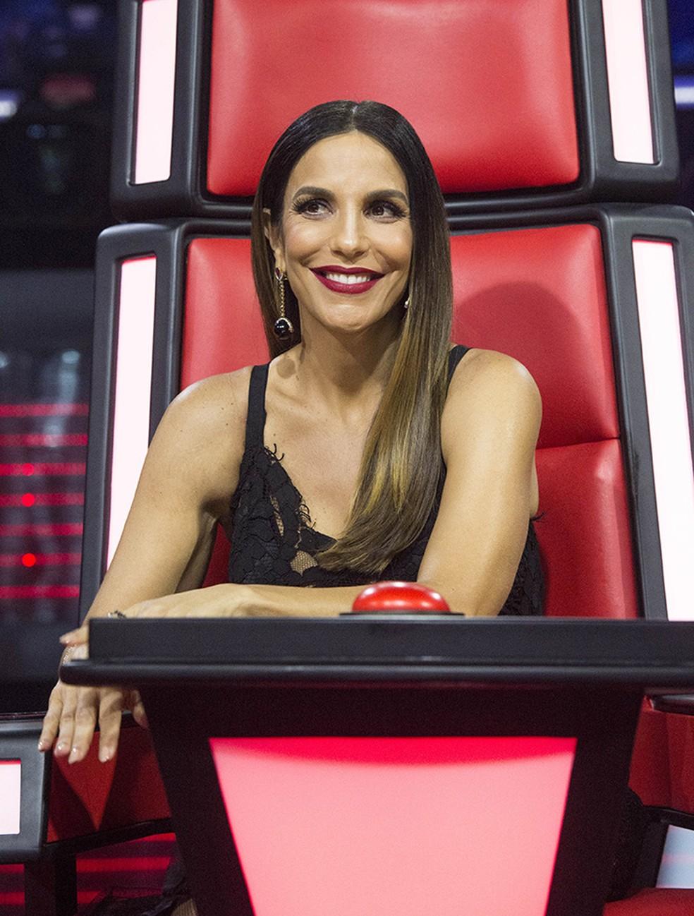 Veveta vai ser técnica pela primeira vez no 'The Voice Brasil' (Foto: Estevam Avellar / TV Globo)