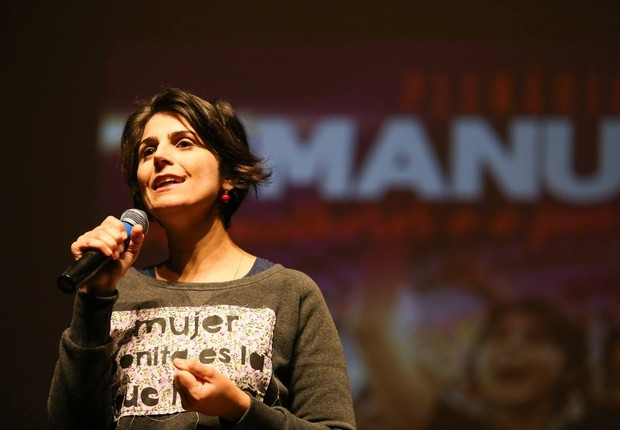 Manuela D'Ávila, candidata à Presidência pelo PCdoB (Foto: Reprodução/Facebook)