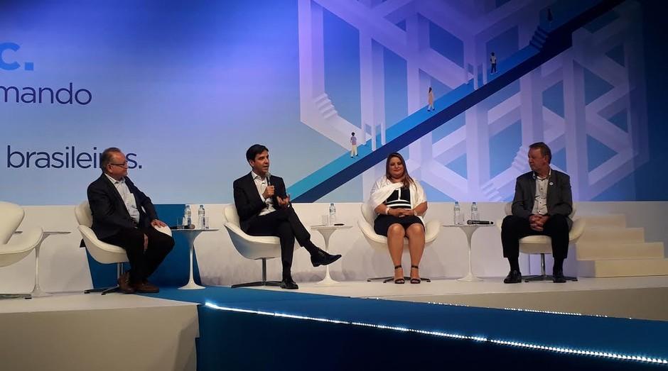 Empreendedores se apresentam durante evento de 25 anos do Empretec, programa de capacitação realizado pelo Sebrae (Foto: Editora Globo)